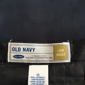 Old Navy Skirt - Navy with sequins.  Low Waist S12